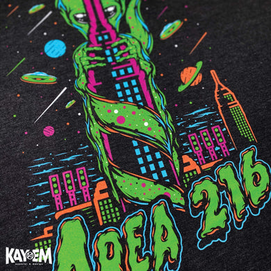 Area 216 Sticker