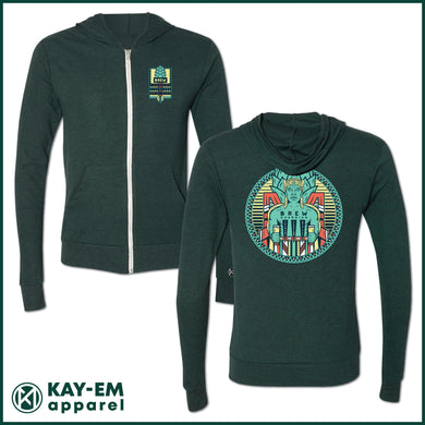 Brew Guardian Emerald Lightweight Zip Up