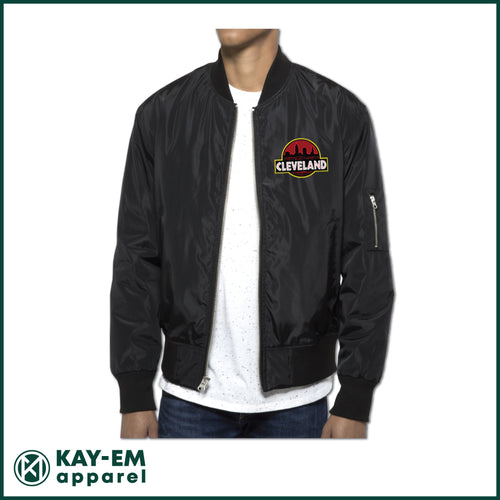 Cleveland Badge Bomber Jacket