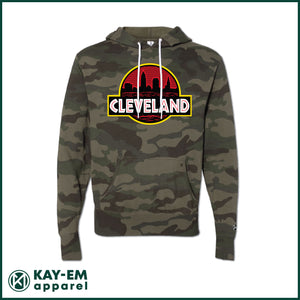 Cleveland Badge Camo Hoodie
