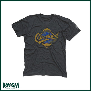Cleveland Series Heather Dark Grey T-Shirt