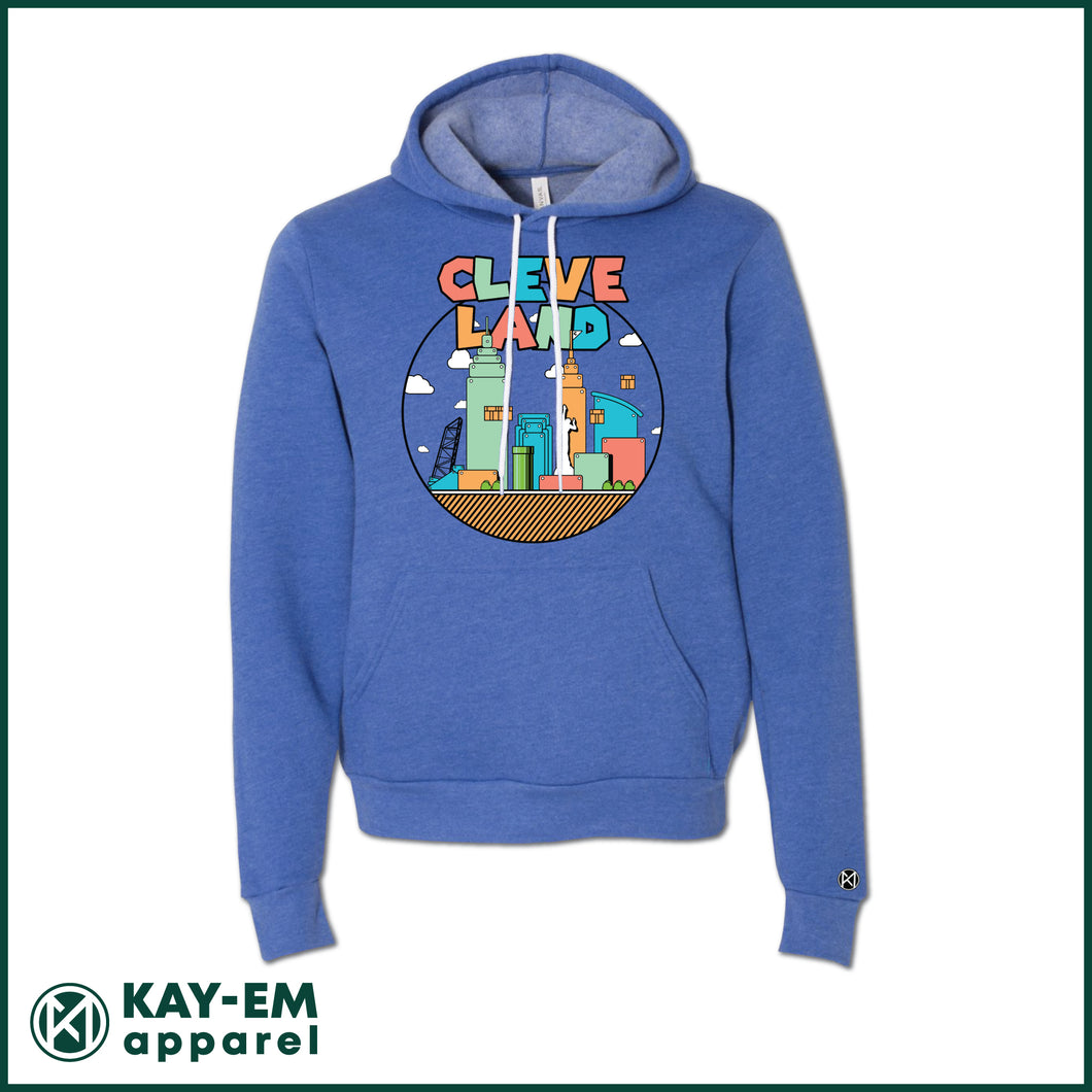 Colorful Cleveland Royal Hoodie