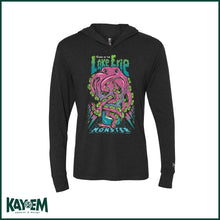 Load image into Gallery viewer, Curse of the Lake Erie Monster Black Hooded T-shirt