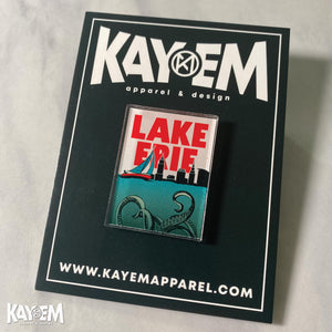 Lake Erie Acrylic Pin