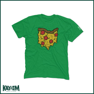 Ohio Pizza Green T-Shirt