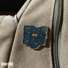 Load image into Gallery viewer, Pacman Ohio Acrylic Pin