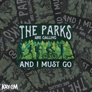 Parks Calling Patch