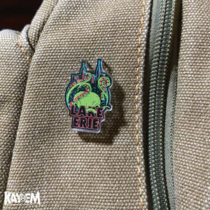 Revenge of the Lake Erie Monster Acrylic Pin