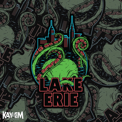 Revenge of the Lake Erie Monster Sticker