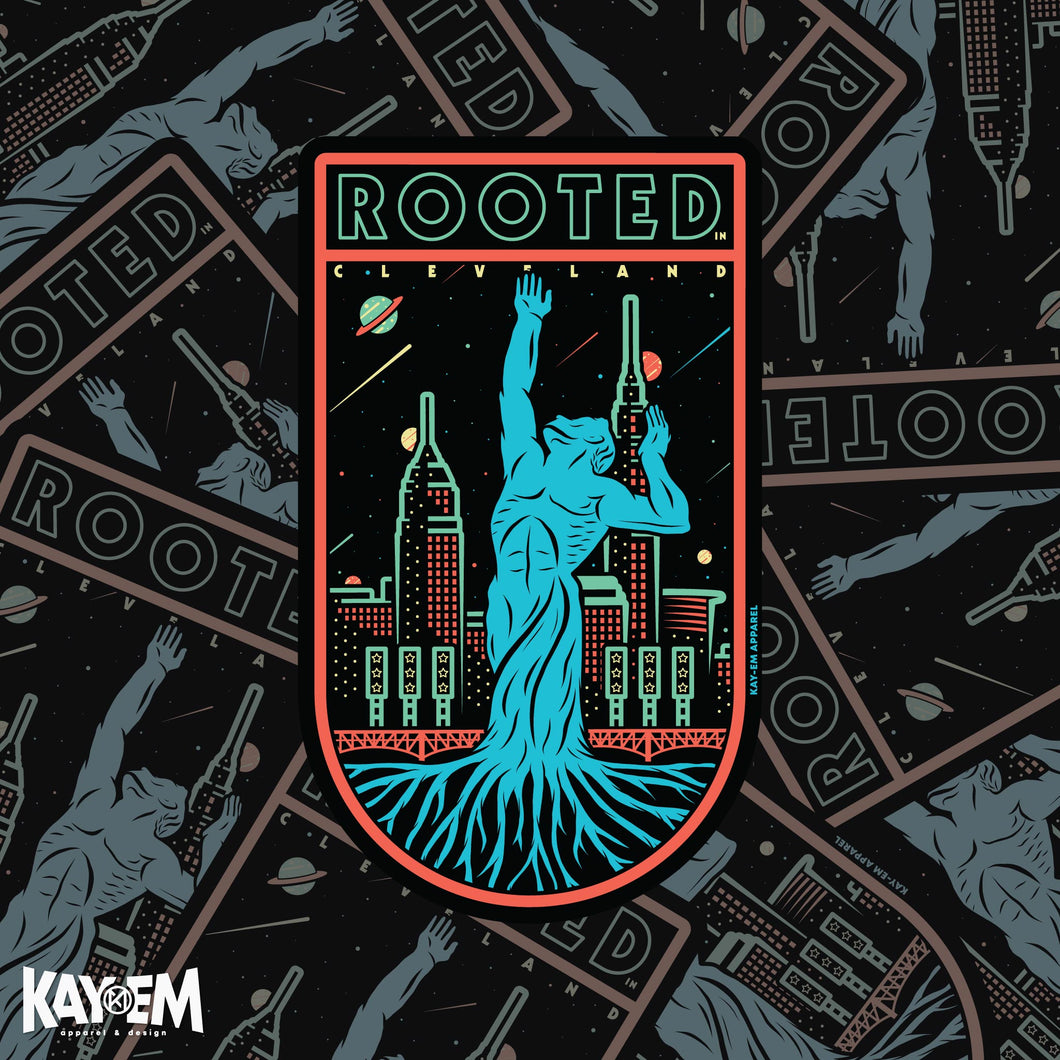 Rooted in Cleveland Sticker
