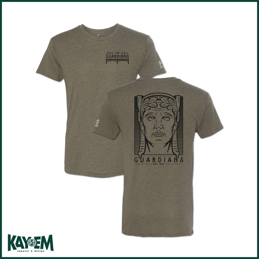 The Guardians Military Green T-Shirt