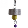 Parrot Grinding Stone Bird Toy With Bell