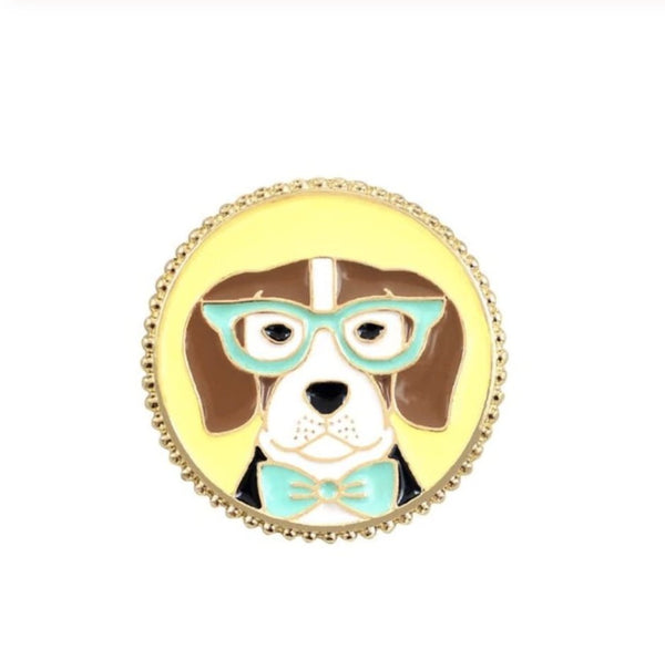 Apricot The Dog Pin - Wild Pet Supply