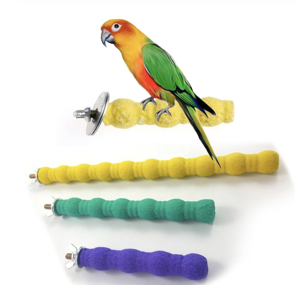Bird Perch Stand Hanging Toy - Wild Pet Supply