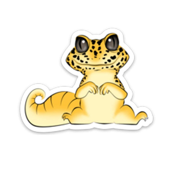 Leopard Gecko Sticker - Wild Pet Supply