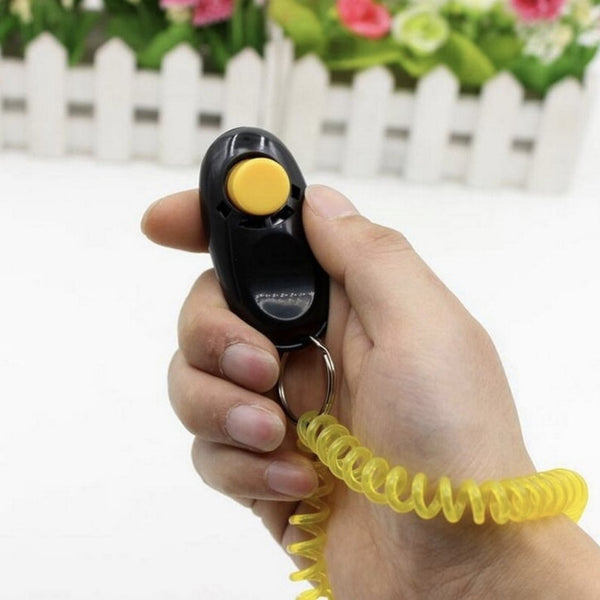 Pet Training Clicker with Wrist Strap - Wild Pet Supply