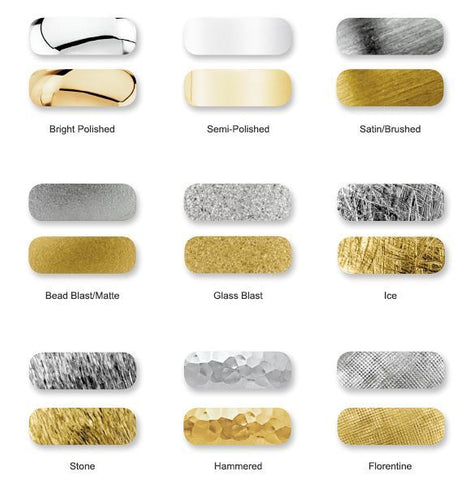 Different Types of Gold Ring Finishes