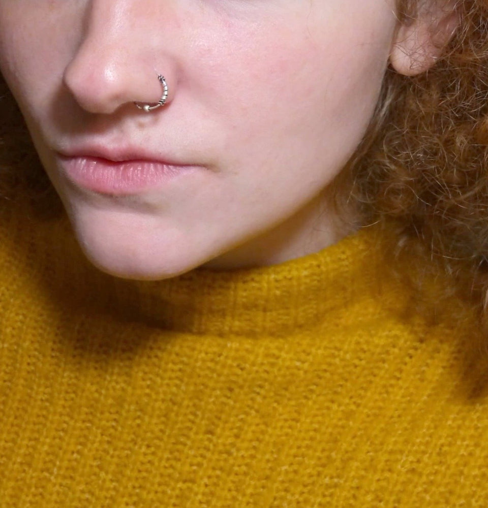 Nose Ring Hoop