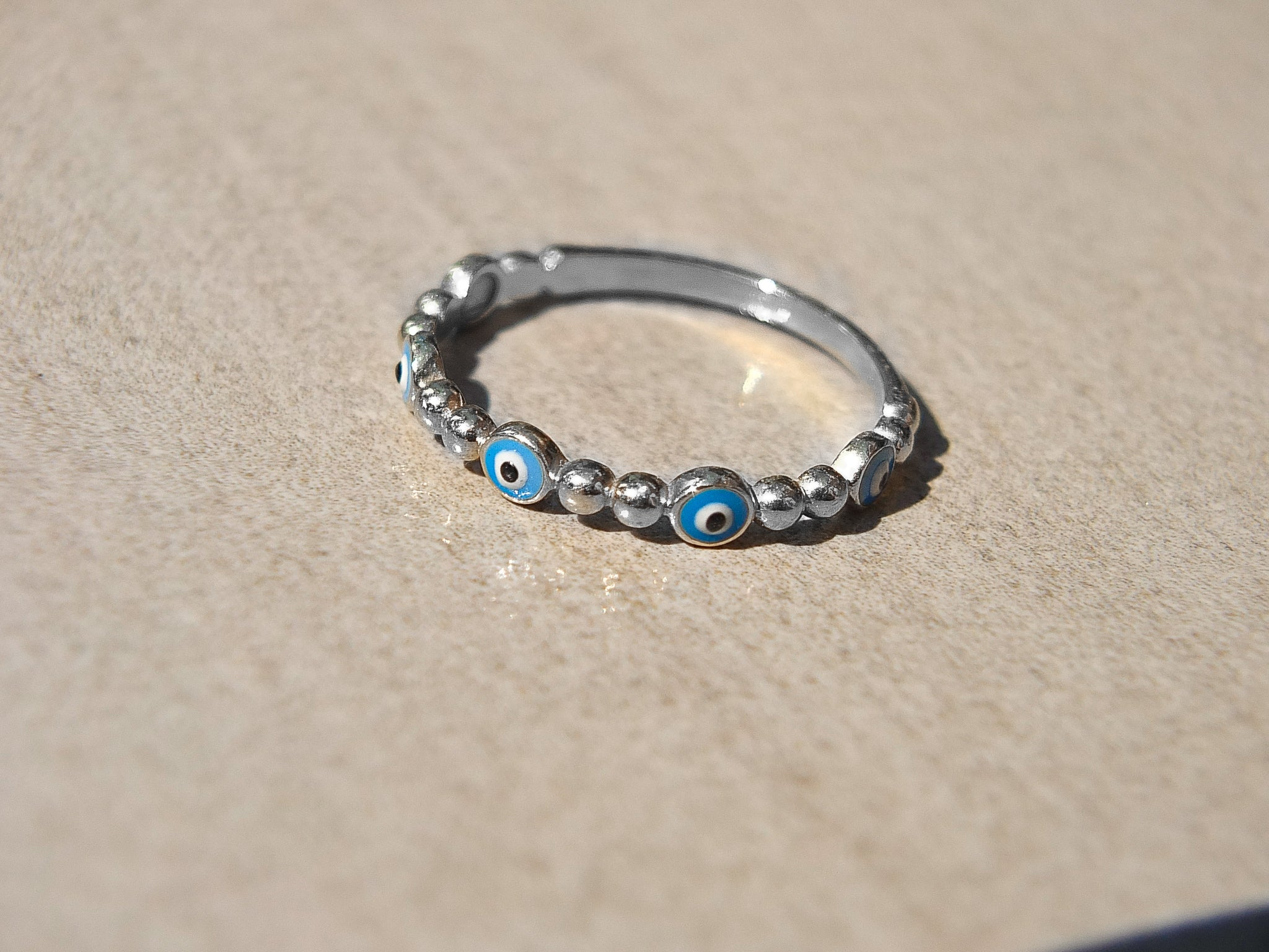 White gold evil eye ring toronto, buy white gold evil eye ring in toronto, buy white gold evil eye jewellery toronto, etsy white gold evil eye ring, made in canada evil eye rin