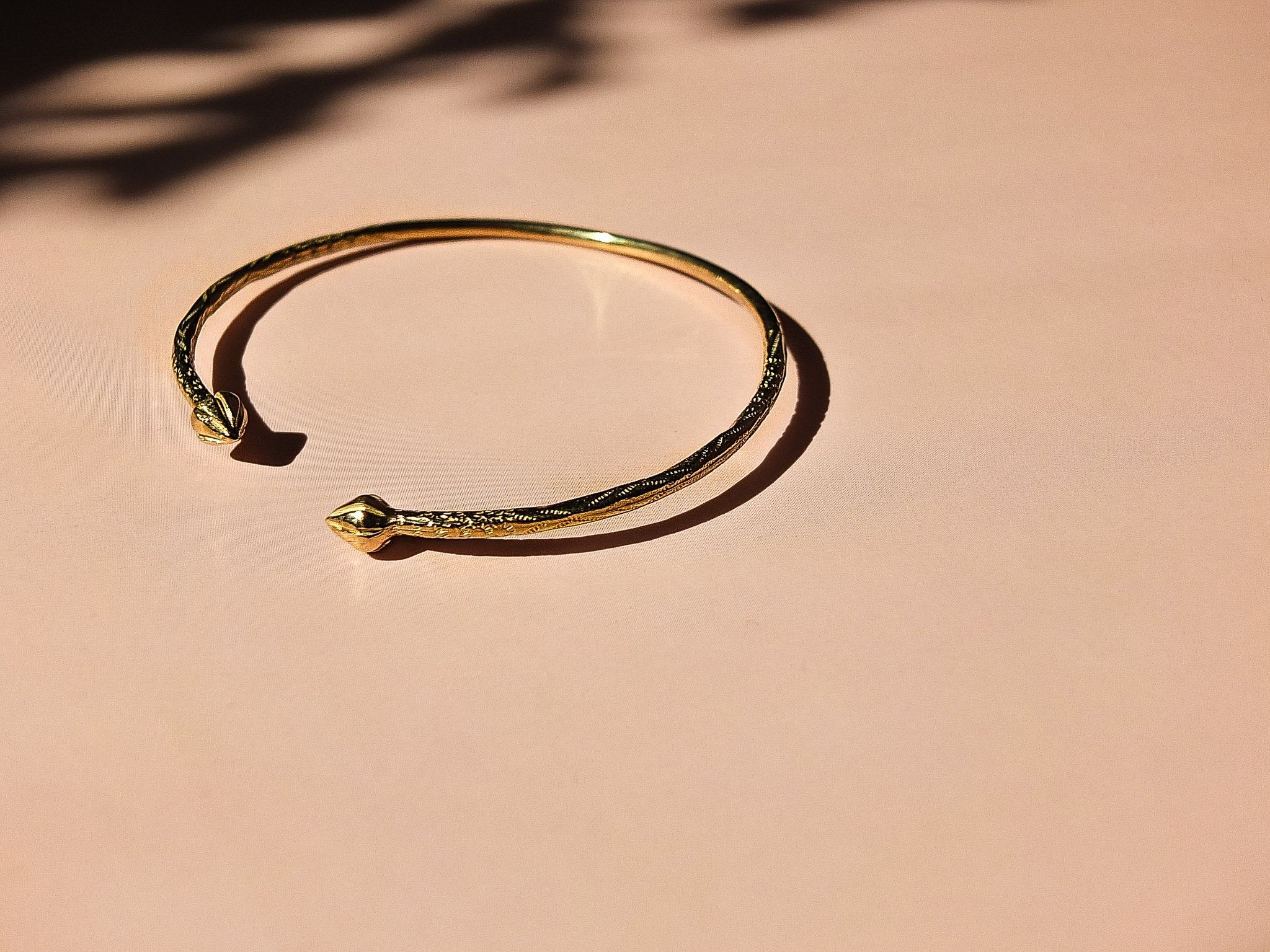 solid gold bangle, gold bangle, 10k gold bangle, handmade in toronto, cheap solid gold bangle