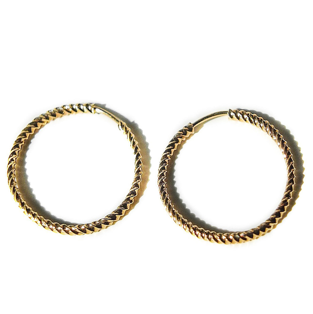 Light Gold Hoops