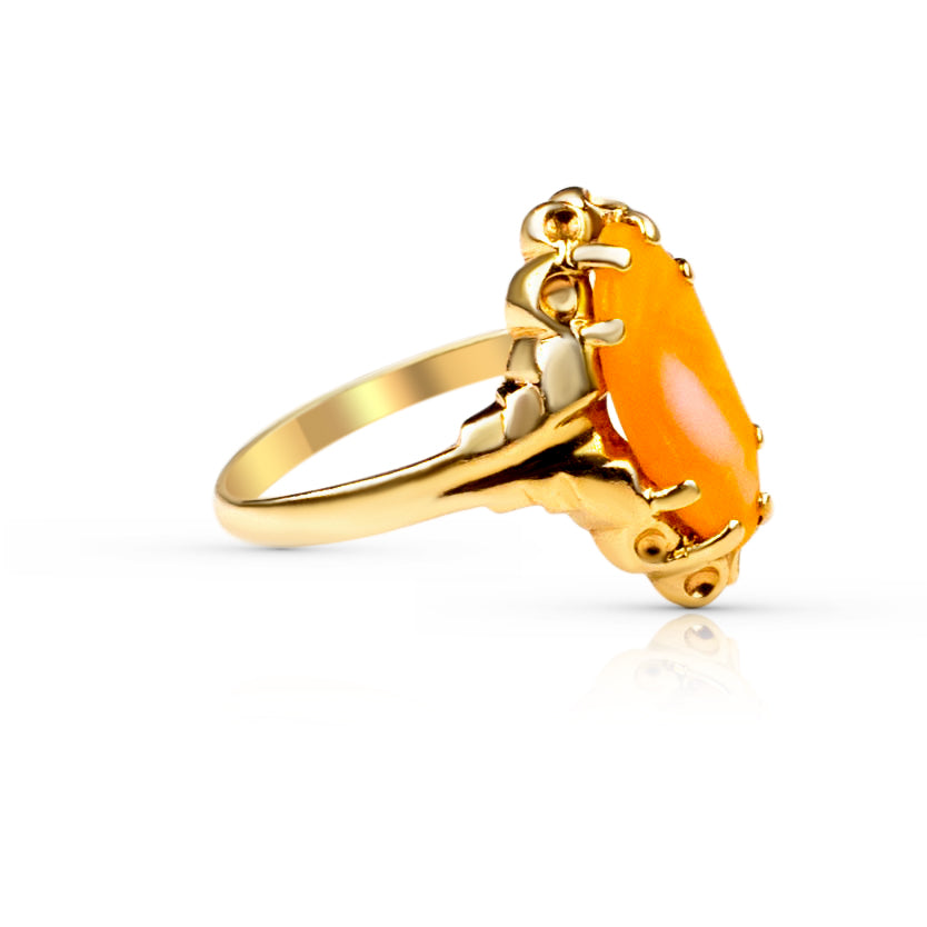gold coral ring for women toronto, gold coral ring for women vancouver
