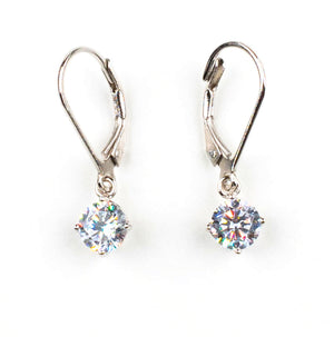 Dangling Cubic Earrings