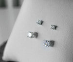 Classic Studs Earrings | Silver | 3.0-4.0mm