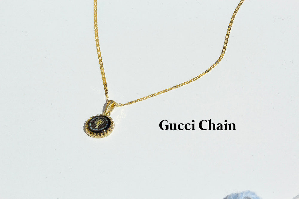 St. Christopher Pendant in 10k Gold and Onyx