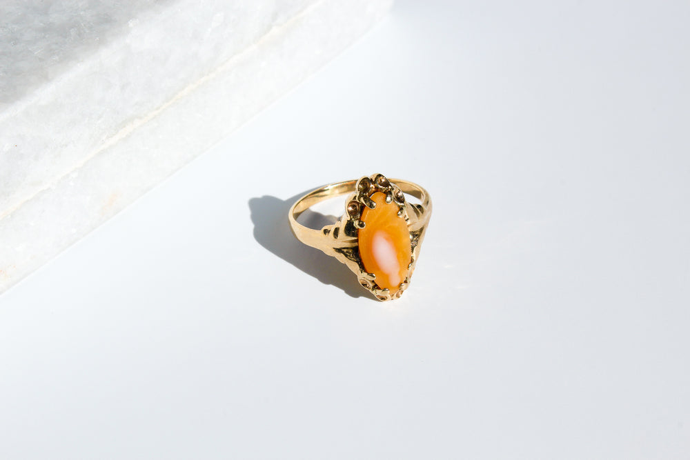 Load image into Gallery viewer, Coral Ring | 10k Gold