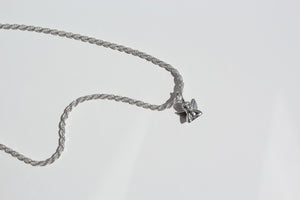 Solid Sterling Silver Rope Chain