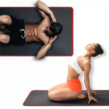 Load the image into the gallery viewer, Yoga non-slip mat extra thick