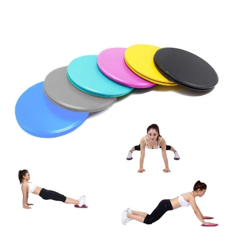 Fitness glide pads