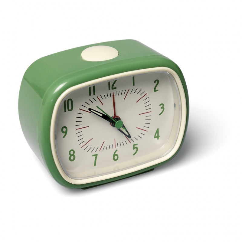 Retro Style Green Alarm Clock