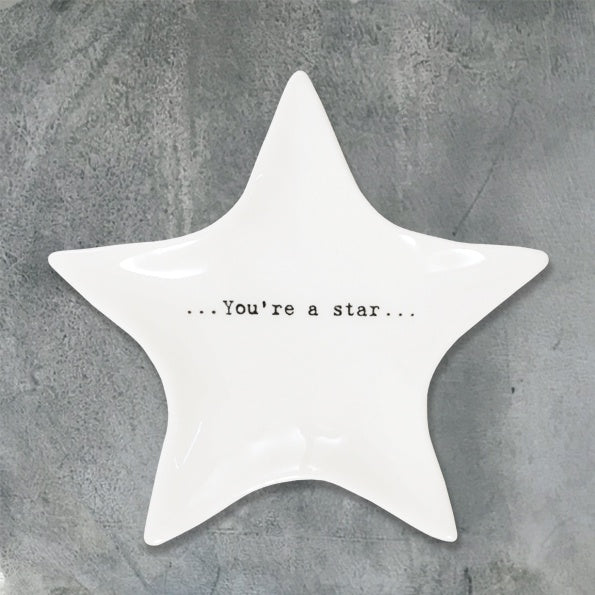 Wobbly star dish-You're a star