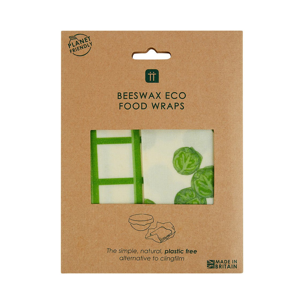 Beeswax Wraps Sprout 2 Pack