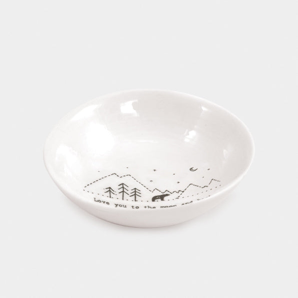 Wobbly Bowl 'Love You To The Moon and Back'