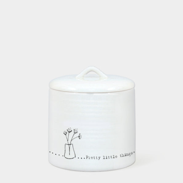 'Pretty Little Things' Lidded Pot