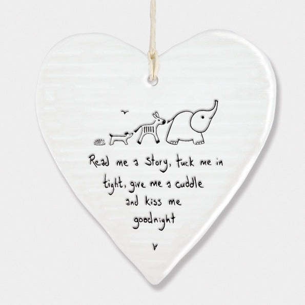 Porcelain 'Read Me a Story' Ornament