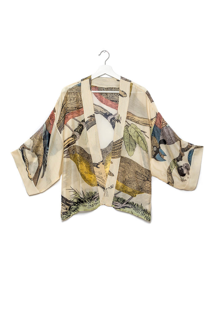 One Hundred Stars Bird Kimono
