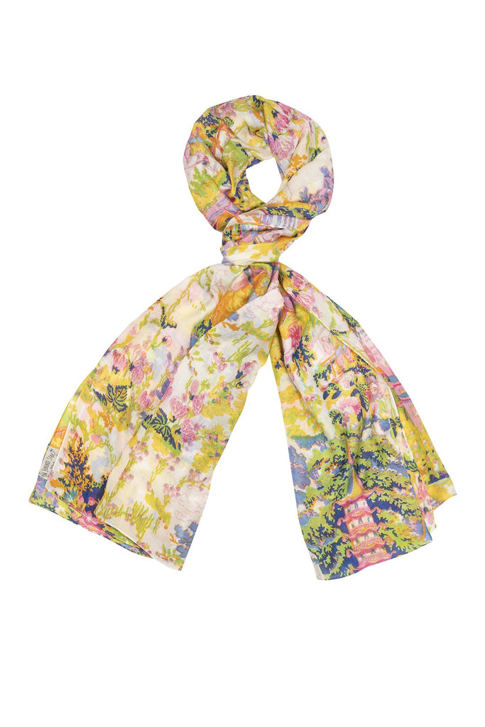 One Hundred Stars China Tree Summer Scarf