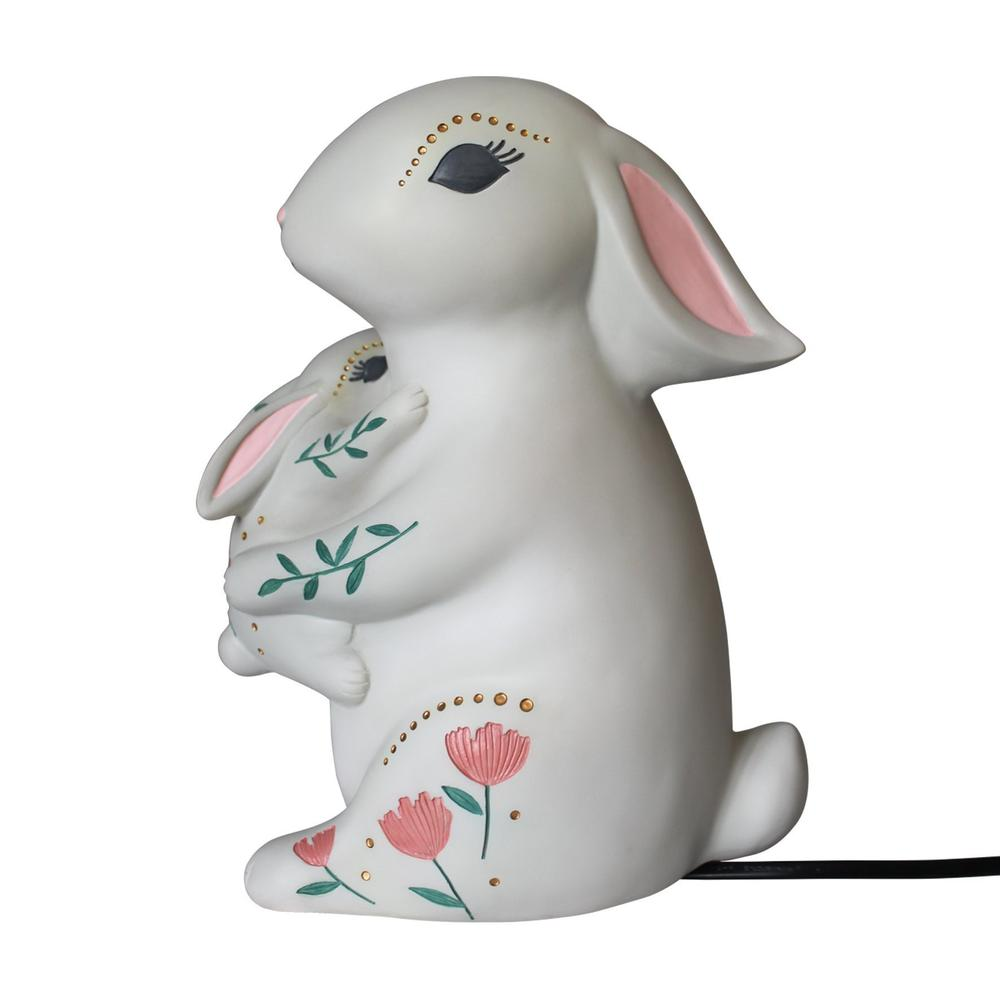 Mother & Baby Rabbit Lamp