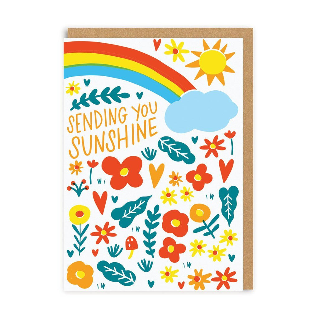 Card Sending You Sunshine Ohh Dear
