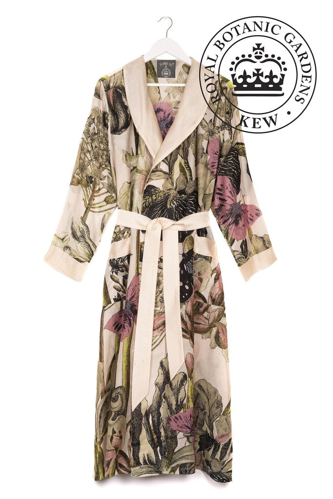 One Hundred Stars & Kew Iris Dressing Gown Blush