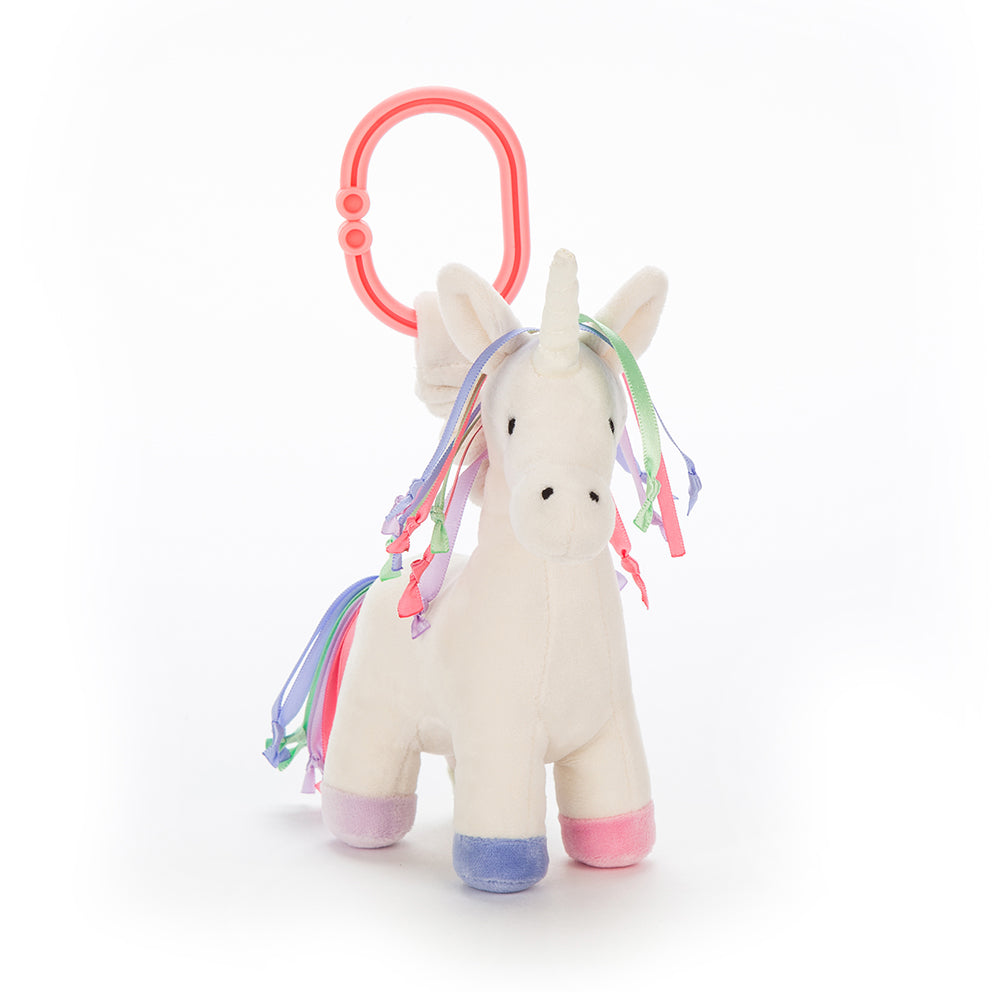 Lollopylou Unicorn Jitter Toy