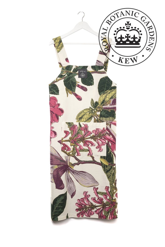 One Hundred Stars & Kew Magnolia White Apron