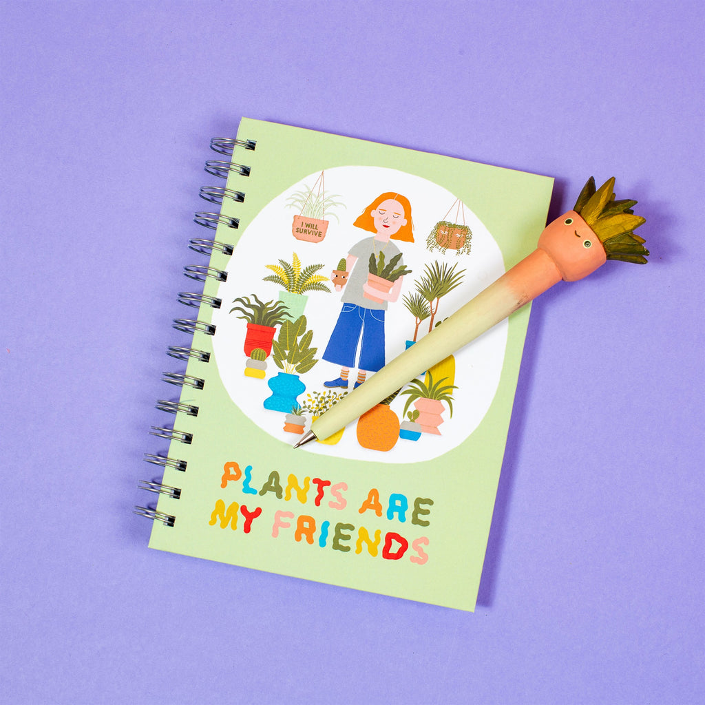 A5 Plant Friends Notebook