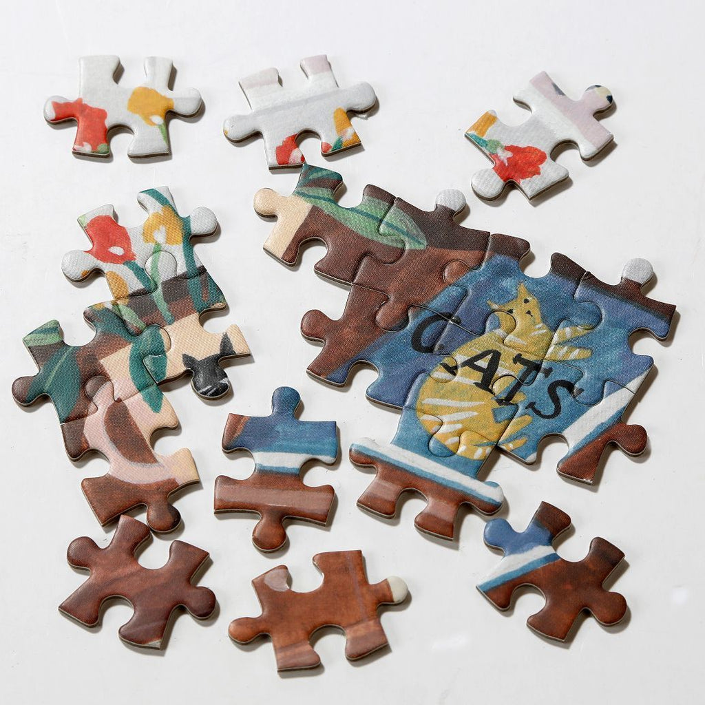 Jigsaw Puzzle Cat