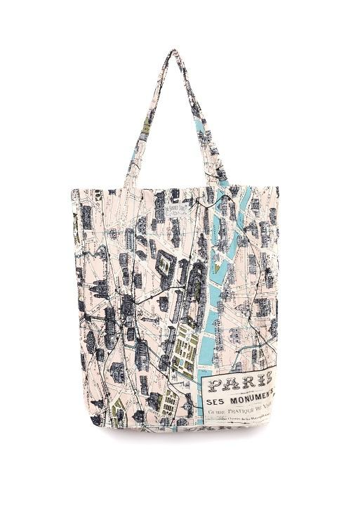 One Hundred Stars Paris Tote Bag