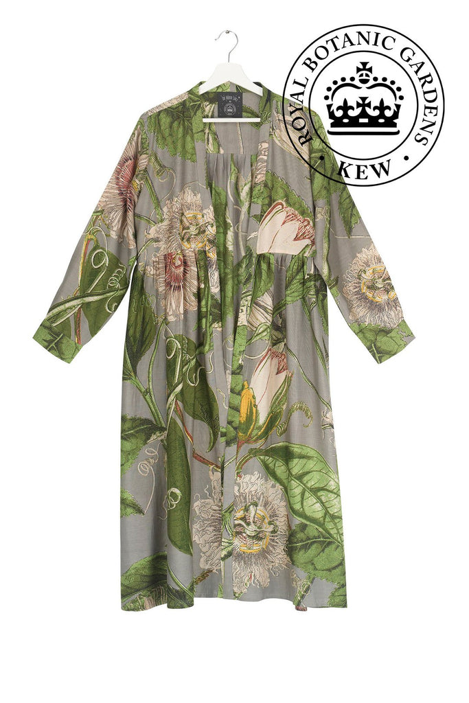 One Hundred Stars & Kew Passion Flower Stone Duster Coat